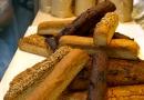 Fines baguettes sans gluten