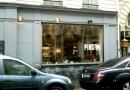 La devanture du Café Pinson