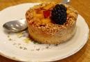 Une tarte sans gluten aux fruits de saison
