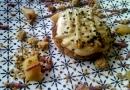 Tartelette poire, crème de kiwi et sésame au 5 Lorette © Cookismo.fr