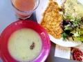 Assiette salée sans gluten du brunch de chez Lula © Cookismo.fr