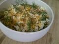 Riz complet, épinard, purée de carotte et oeuf dur du Porridge Bar © Cookismo.fr