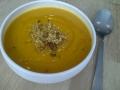 Soupe de lentilles corail et crackers du Porridge Bar © Cookismo.fr