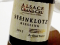 Dans le verre : un vin d'Alsace