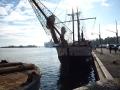 Le port d'Helsinki, à côté de la halle