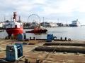 Le port d'Helsinki, sous le soleil d'automne