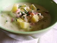 Le chowder, soupe de poisson