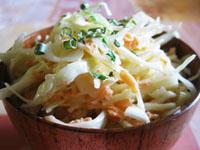 Le coleslaw, salade de chou