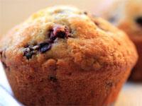 Un muffin à la myrtille