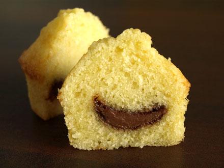 Muffin coeur de nutella