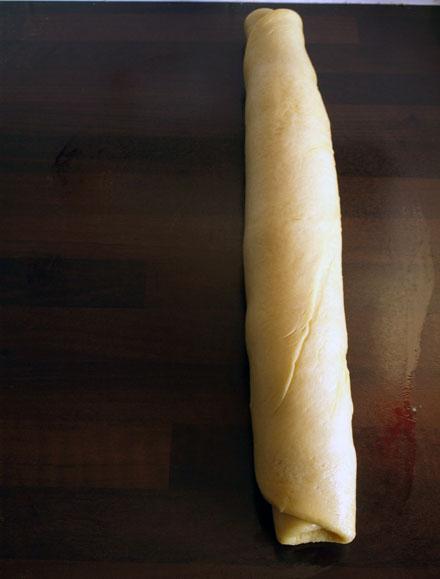 Boudin de pâte à brioche