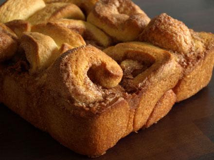 Brioche roulée à la cannelle - Cinnamon rolls