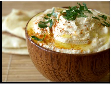 Houmous, dip libanais aux pois chiches et au sésame « Cookismo ...