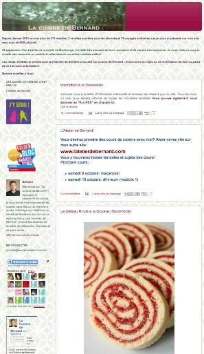 La cuisine de bernard meilleur blog culinaire de for La cuisine de bernard