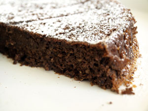 Recette du moelleux chocolat,noisettes
