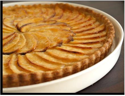tarte aux pommes avec compote cookismo recettes saines faciles et inventives. Black Bedroom Furniture Sets. Home Design Ideas