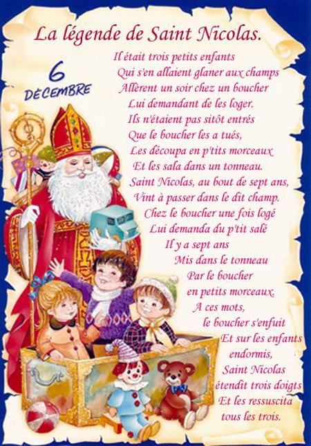 Pourquoi f te t on la saint nicolas en lorraine cookismo recettes saines faciles et - Image de saint nicolas a imprimer ...