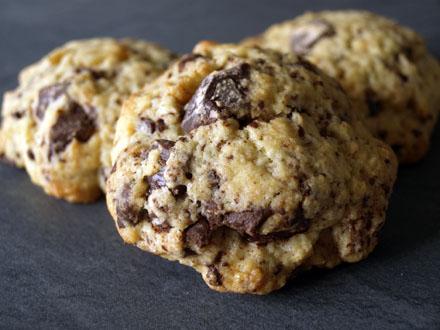 cookies au chocolat et aux noix cookismo recettes. Black Bedroom Furniture Sets. Home Design Ideas