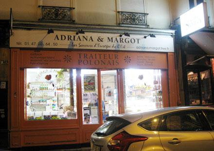 Epicerie polonaise Adriana et Margot (Paris \u2013 11e)