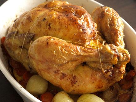 Poulet r ti maison ail et citron cookismo recettes saines faciles et inventives - La maison du poulet ...