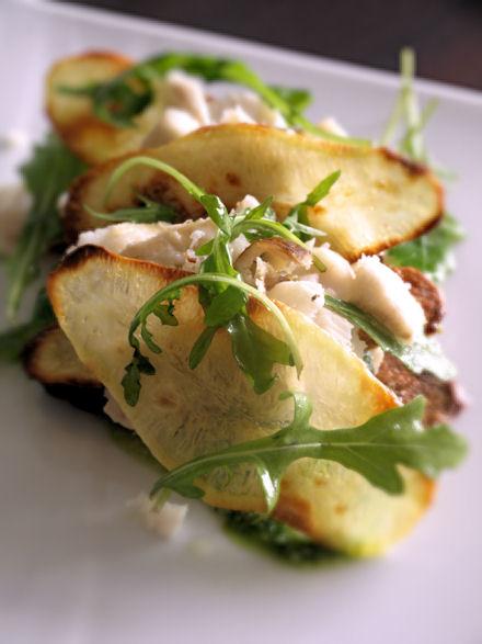 Cabillaud en mille feuille de pomme de terre cookismo recettes saines faciles et inventives - Feuille pomme de terre ...