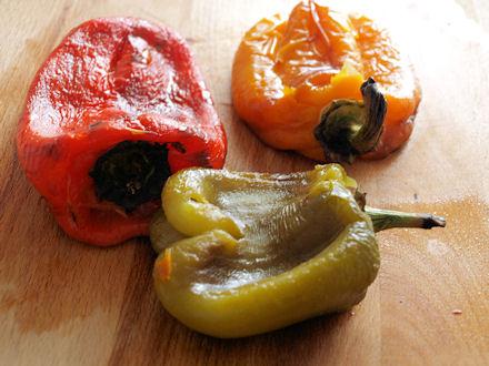 Comment peler les poivrons   « Cookismo   Recettes saines, faciles ... eb8aa343402