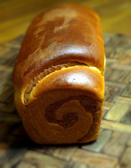 Pain de mie en spirale au chocolat cookismo recettes for Congeler du pain de mie