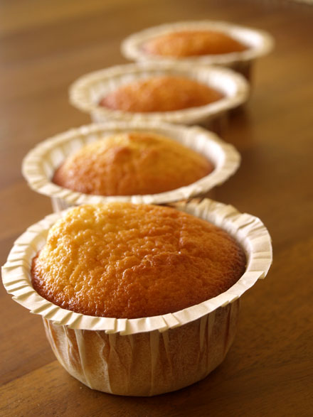 Muffins ananas et citron vert