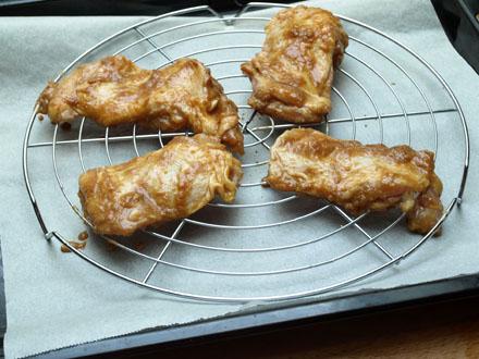 Poulet au miso avant cuisson