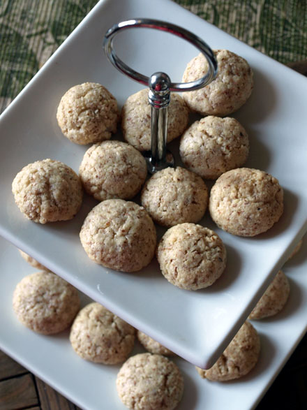 Amaretti, biscuits italiens