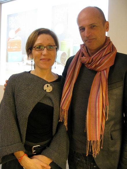 Carine Baudry et FX Delmas