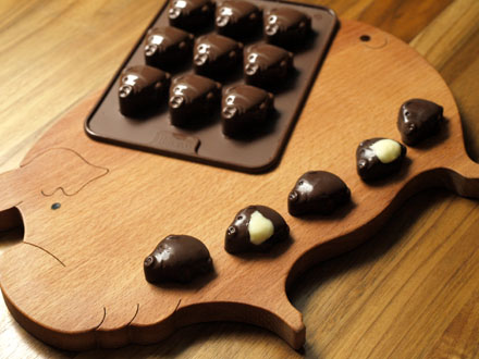 Chocolats cochon
