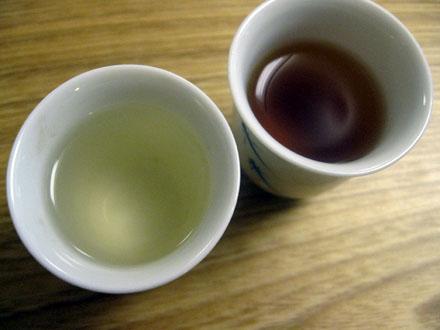 La couleur du thé : faux indice