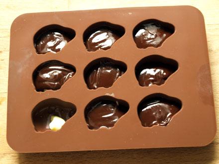 Cochons - chocolat noir