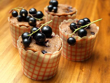 Muffins myrtilles-chocolat