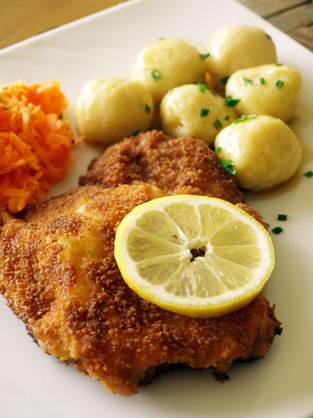 Wiener Schnitzel, escalope viennoise