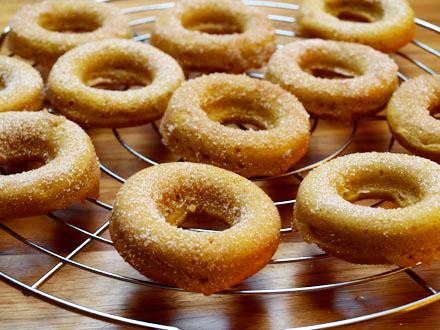 Donuts à la cannelle d'Halloween