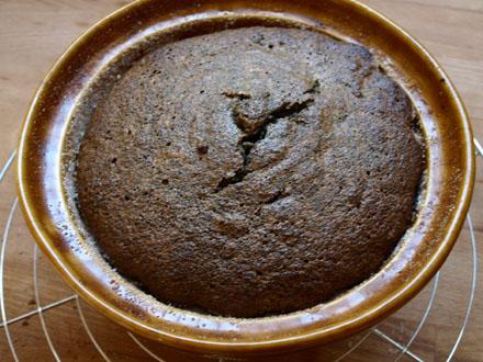 Gâteau au pavot cuit