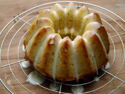 Glaçage du gâteau au fromage blanc