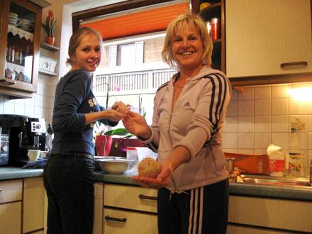 Christelle et Andrea