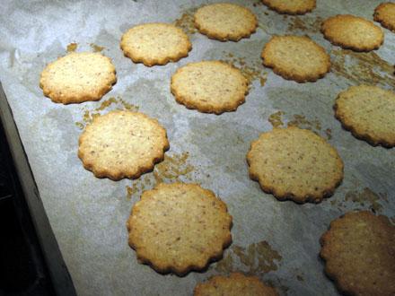 Base des biscuits Linzer Augen