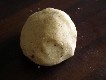 Boule de pâte à sablés chinois
