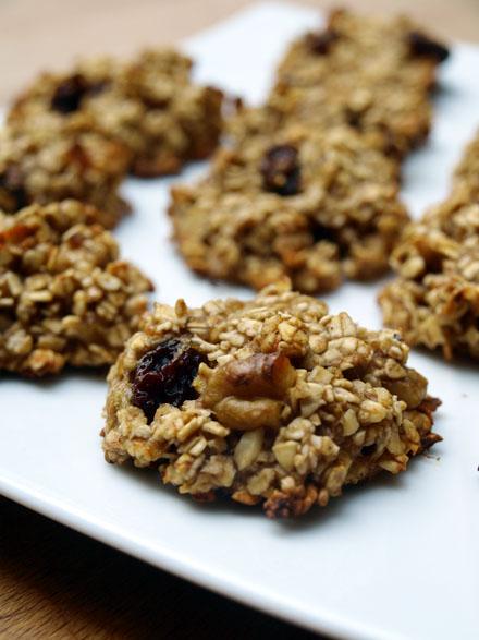 Cookies banane avoine