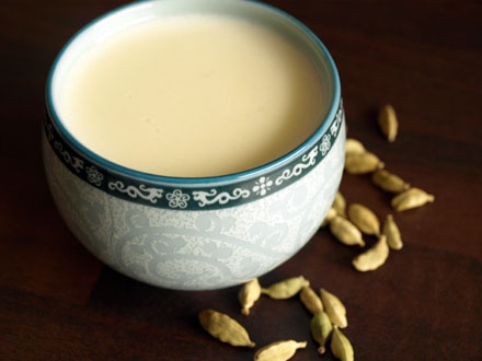 Crème de riz aromatisée à la cardamome