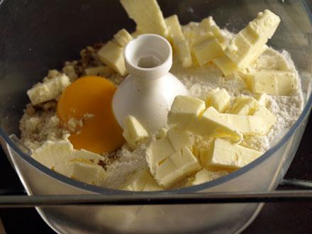 Ingrédients pâte à sablés chinois