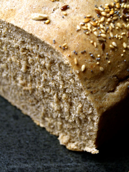 Mie de pain au seigle
