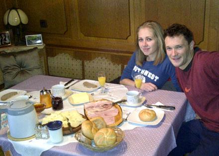 Petit déjeuner autrichien