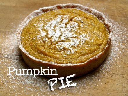 Tarte sucrée au potimarron - Pumpkin Pie
