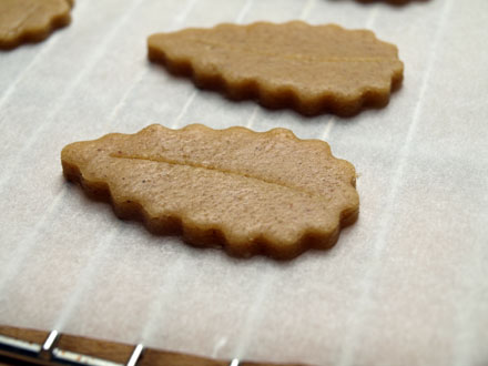Speculoos avant cuisson