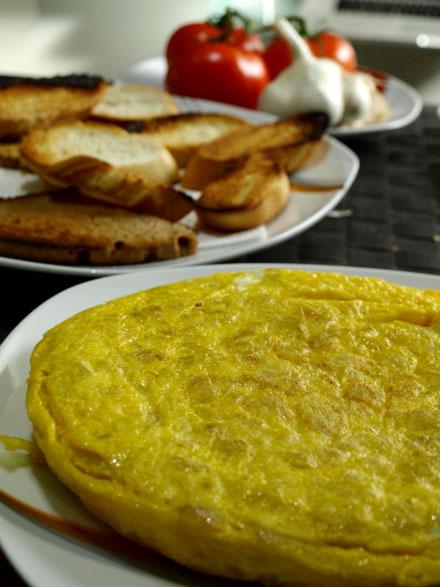 Tortilla espagnole, recette traditionnelle